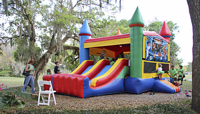 slide-bounce-house